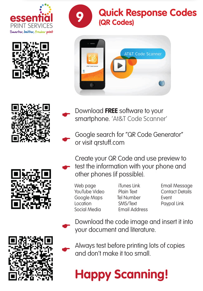 Nice Create Your Own Qr Code Business Card Images - Business Card ...
