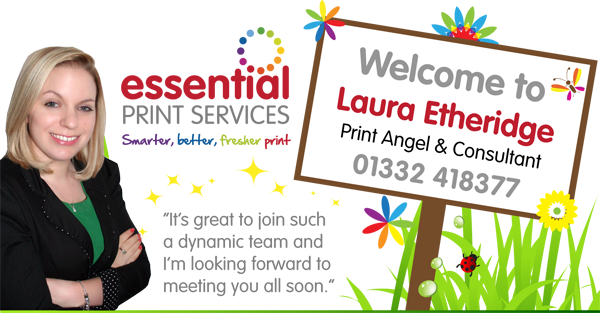 Picture of Laura, The Print Angel at Essential Print Services
