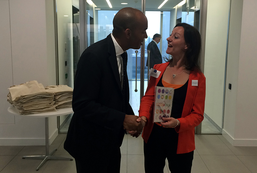 Chuka Umunna recalls previous encounters with Derby's Print Evangelist.