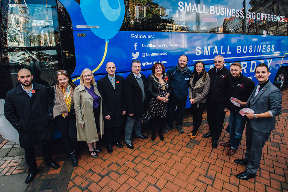 Small Business Saturday UK in Derby