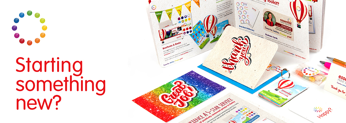 At Essential Print Services Derby we help clients make smart choices on their first print runs.