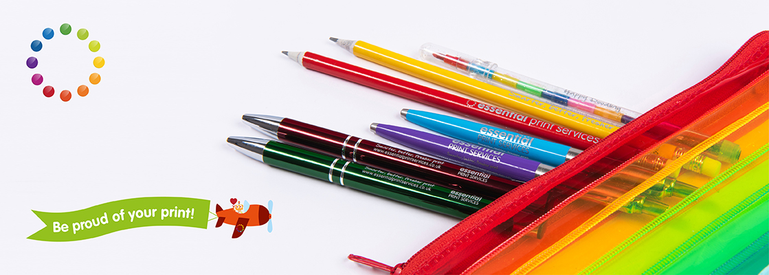 Who loves pens and pencils? We do! And your clients do too!