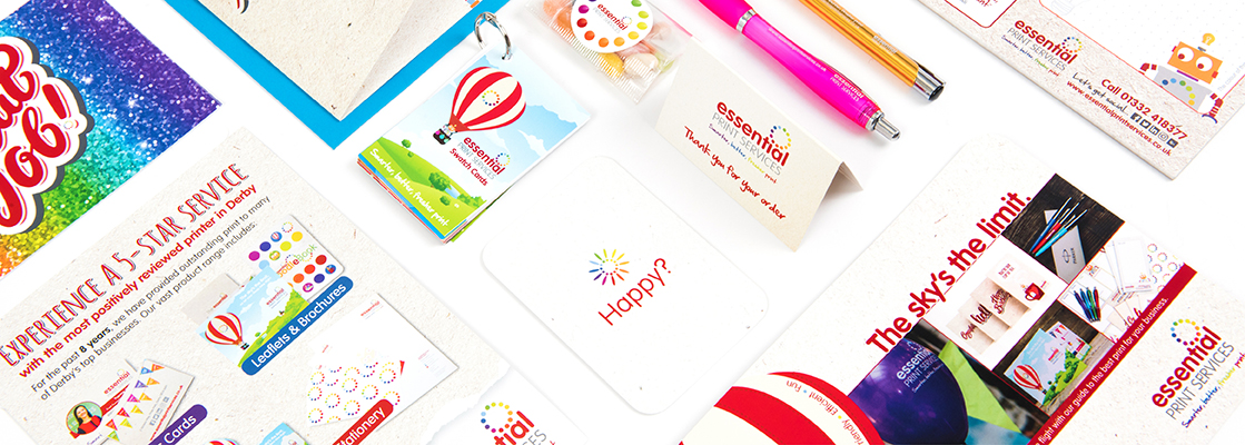At Essential Print Services Derby we have lots of ways to promote your business.